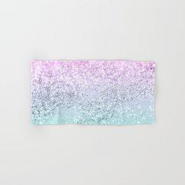 Mermaid Girls Glitter #1 (2019 Pastel Version) #shiny #decor #art #society6 Hand & Bath Towel