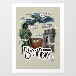 Bloomsday 2013 Art Print