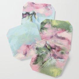 geraniums Coaster