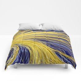 Light Burst's - Golden Light 1 Comforters