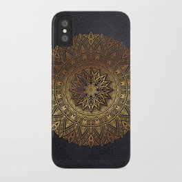 -A27- Original Heritage Moroccan Islamic Geometric Artwork. iPhone Case