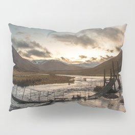 Broken Bridge Valley Dusk Pillow Sham