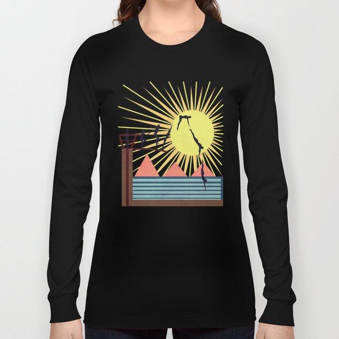 SUMMER POOL Long Sleeve T-shirt
