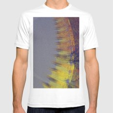 drone's perspective White SMALL Mens Fitted Tee