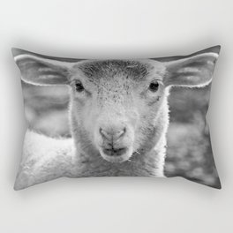 Lamb's portrait Rectangular Pillow