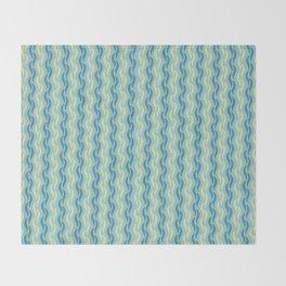 Silken Serpentine Stripes Throw Blanket