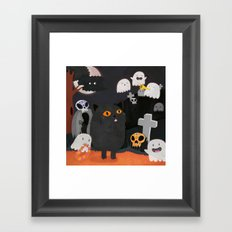 Halloween! Framed Art Print