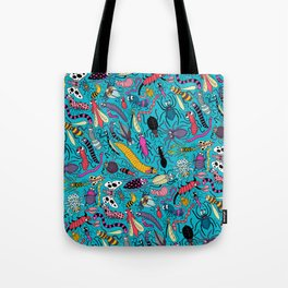 Bug Pattern Tote Bag