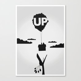 Pixar's UP Canvas Print