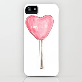 this is it iPhone Case