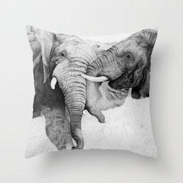 Mochipas Throw Pillow