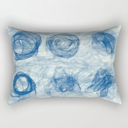 BI Nr1 blue Rectangular Pillow