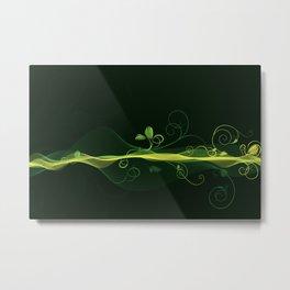 Glowing Vines Metal Print