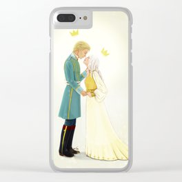 Nikolai and Alina Clear iPhone Case