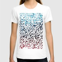 arabic T-shirts featuring Arabic Typography by Sarah Sallam