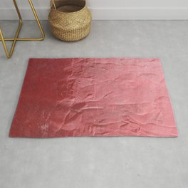 Blush Red Texture Rug