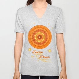 Mandala Divine Power Unisex V-Neck
