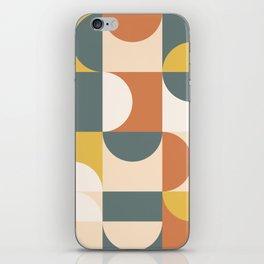 Mid Century Modern Geometric 23 iPhone Skin