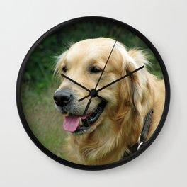 Golden Retriever Pet Wall Clock