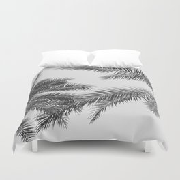 simply palm leaves Duvet Cover