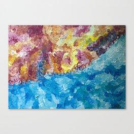 Semiprecious Canvas Print