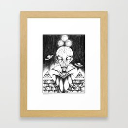 Supreme Overlord Framed Art Print