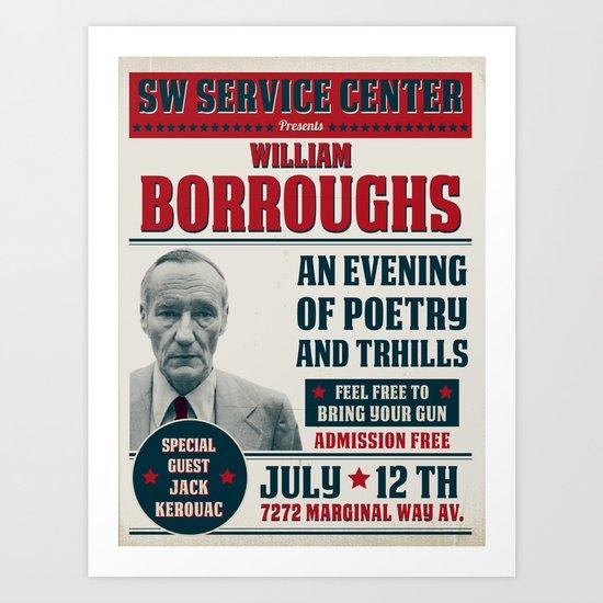 Borroughs Event Art Print