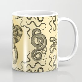 Snakes Pattern Coffee Mug