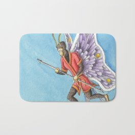 Butterfly King Bath Mat