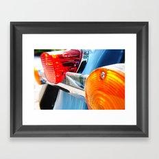 Taillights Framed Art Print