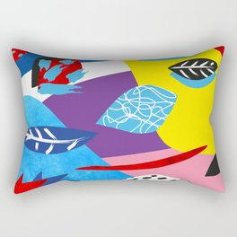 The Floral Wind of 1980 Rectangular Pillow