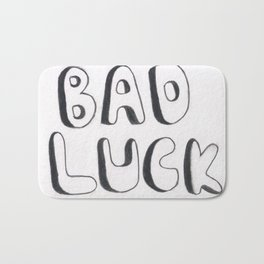 Bad Luck Bath Mat