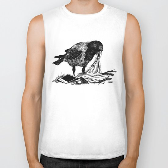 Crow's nest Biker Tank