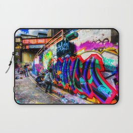 Leake Street Graffiti Artists Laptop Sleeve