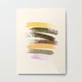 Trees and marshmallow Metal Print
