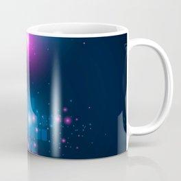 Blue Graphic Equalizer Coffee Mug