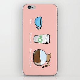 Coffee Size iPhone Skin