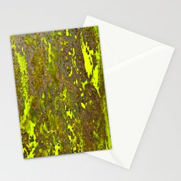 Yellow Rust Stationery Cards