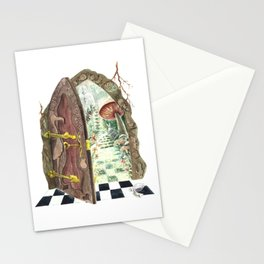 Wonderland Window Stationery Cards