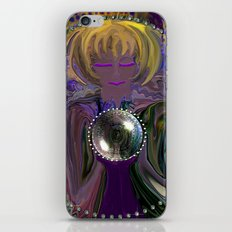 Gypsy and her Crystal Ball-abstract iPhone & iPod Skin