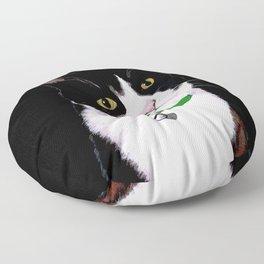 Tuxedo Cat Floor Pillow
