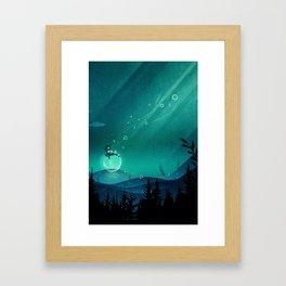 Comfortably Numb Framed Art Print