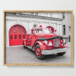 Fire Engine House No. 1 Serving Tray