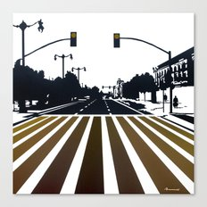 Avenue Canvas Print