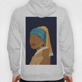 Girl With a Bamboo Earring Hoody