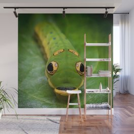 Inch Worm Wall Mural