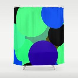 Bolhas flutuantes Shower Curtain