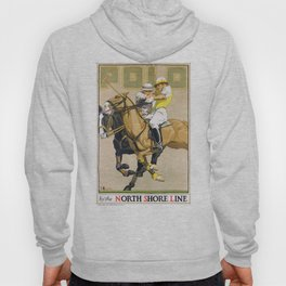 1923 Polo By The North Shore Line Transit Poster Hoody