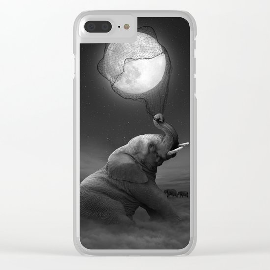 Bringing Light to the Darkness Clear iPhone Case