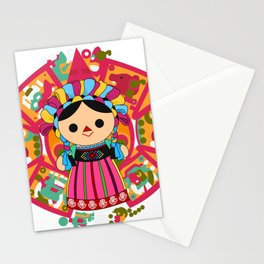 Maria 3 (Mexican Doll) Stationery Cards